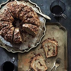 Snickers Coffee Cake | via Bakers Royale