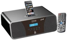 Pyle Home PHSCI20B iPod/iPhone Alarm Clock Radio With High-Performance 2.1 Channel 200 Watts Speakers & Am/Fm Tuner  (Black) by Pyle. $77.25. The PHSCI20B is a new, innovative clock/radio from Pyle Home that lets you listen to your iPod and wake up to your favorite music. It works with a variety of iPods as well as the iPhone, and charges your device when you plug it into the dock at the top of the unit. An AUX input jack lets you easily connect another MP3 play...