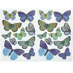 Blue Butterfly Applique