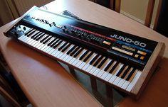 Custom Roland Juno 60 Synthesizer by customsynth, via Flickr