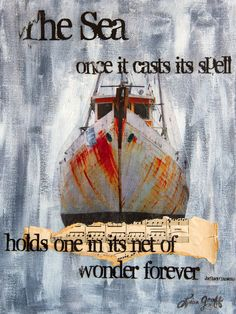 Hey, I found this really awesome Etsy listing at https://www.etsy.com/listing/180027030/mixed-media-fine-art-print-the-sea