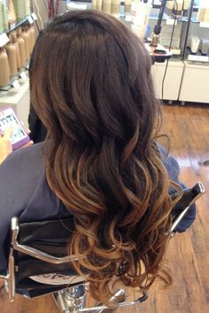 Ombre! Pretty sure I'm gonna add more to my hair !! :D love this !!