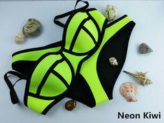 Swimwear Woman Fashion Neoprene Bikinis Women New Summer 2016 Sexy Swimsuit Bath Suit Push Up Bikini set Bathsuit Biquini TA001