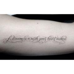 I want mine to say: Writing is Dreaming Whilst Awake Dr Woo Tattoo, La Tattoo, Tattoo Script, Tattoo Fonts, Tattoo Quotes, Cool Tattoos, Tatoos, Flower Tat, Lace Bows
