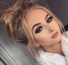 Tag your boldest looks and best babes with Available at Ulta and Sephora Formal Makeup, Prom Makeup, Cute Makeup, Wedding Makeup, Makeup Goals, Makeup Tips, Beauty Makeup, Hair Beauty, Makeup Videos