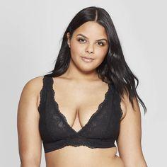 58166395a2d59 Women s Unlined High Apex Bralette - Auden Black XL