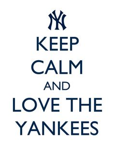 """Handmade print. KEEP CALM, modern artwork, colorful, 8 1/2"""" x 11"""", 8"""" x 10"""", NY Yankees, sports team, fan by soupdimples on Etsy https://www.etsy.com/listing/157788376/handmade-print-keep-calm-modern-artwork"""