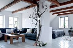 The inviting home of a Danish florist