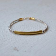 GoldHearted faye bracelet, $25