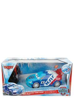 Autot 2 -elokuvasta tuttu Raoul sähäkkänä Ice Racers -versiona! Kaksikanavainen radio-ohjaus, 27 MHz. Ajaa eteen ja taakse, oikealle ja vasemmalle. Turbotoiminto. Pituus 17 cm. Tarvitsee paristot 3 x 1.5 V R03 + 2x 1.5V R6. Ikäraja 3+