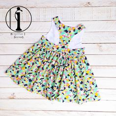 Tadah! tea party dress pattern - racer back
