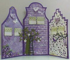 Ook op zaterdag zijn er prachtige huisjes-kaarten gemaakt tijdens de aanschuifworkshop. Je ziet ze in dit blogbericht.