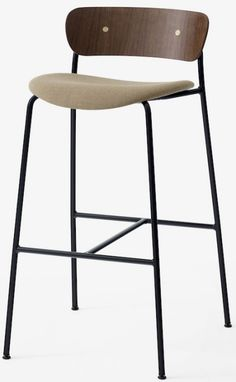 &Tradition – Pavilion bar & counter stools AV7 & AV9 – design Anderssen & Voll