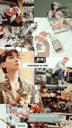 New wall paper aesthetic exo kai 62 Ideas Chanyeol Kokobop, Exo Kai, Aesthetic Collage, Kpop Aesthetic, Exo Chanbaek, Exo Ot12, Baekhyun Wallpaper, Funny Phone Wallpaper, Exo Lockscreen