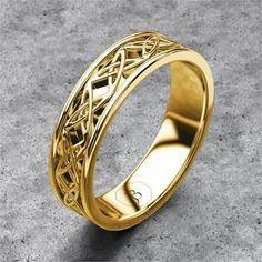 ROPE BRAID Ring SK Cobalt Mens Wedding Band By Scott Kay