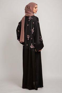 Rosella Open Jacket Abaya