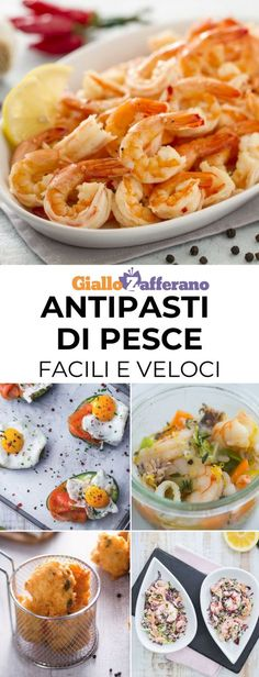 Quick and easy fish appetizers: a tasty way to start a lunch or a .- Quick and easy fish appetizers: a tasty way to … - Slow Cooker Fish Recipes, Seafood Recipes, Appetizer Recipes, Antipasto, Tapas, How To Cook Polenta, Cereal Recipes, Appetisers, Clean Eating Snacks