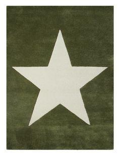 olive star rug