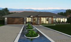 By offering a balanced & well considered layout, Lyndhurst delivers well defined living & accommodation areas without sacrificing space. View floor plans now. Family House Plans, Best House Plans, Dream House Plans, Double Storey House Plans, Mcdonald Jones Homes, House Plans South Africa, Arizona, Home Id, Bungalow House Design