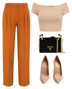 I love it so so MUCH by amode on Polyvore featuring polyvore fashion style Alice + Olivia Victoria, Victoria Beckham Yves Saint Laurent Prada clothing