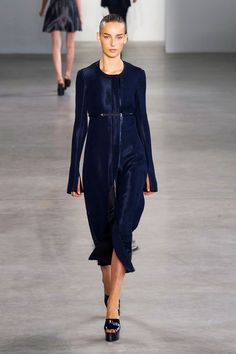 Navy is the New Black | Calvin Klein Spring 2015