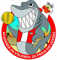 Logo da Academia de Voleibol de Praia do Leixões