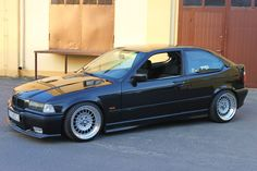 Bmw E36 Compact on custom made 3 piece wheels