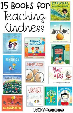 15 Books for Teaching Kindness in the Classroom   Activities to make the Ideas Stick! | Lucky to Be in First
