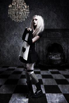 Dark Alice - goth style!