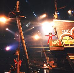 Ahoy Matey! Pirates Voyage Dinner & Show in Myrtle Beach, South Carolina is exciting and fun for all ages! Photo via IG user @ brandon_mcclinsey | Click on the pin when you are ready for info about shows and entertainment in the Myrtle Beach SC area and more.