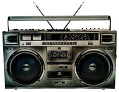 Boom Box.. Remember carrying this around blasting KISS and wearing those ever so cool parachute pants! HA!