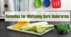Home Remedies to Whiten Dark Underarms Naturally