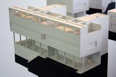 Le Corbusier, Pierre Jeanneret twin house, Stuttgart 1927 by bcmng, via Flickr