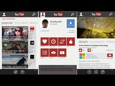 Download YouTube XAP For Windows Phone Application Development, App Development, Intelligent Technology, The Dark World, Windows Phone, Mobile App, Must Haves, Smartphone, Youtube