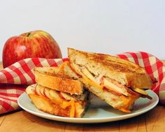 Bacon, Apple, and Cheddar Grilled Cheese by Bobbi's Kozy Kitchen