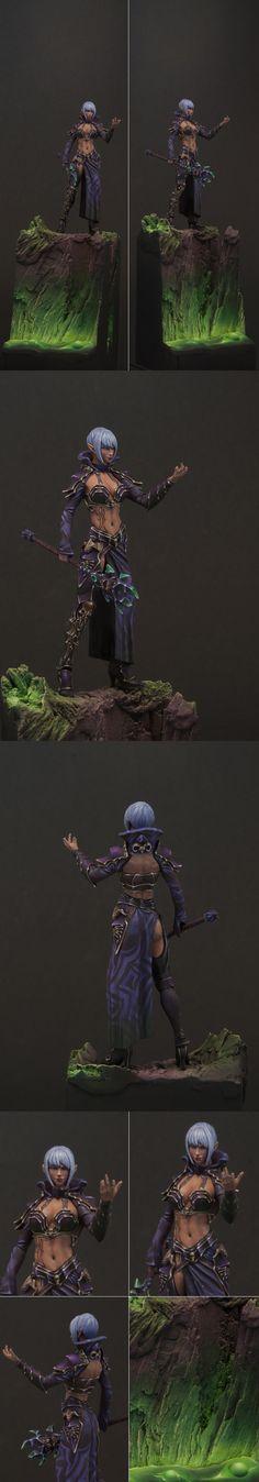 Warcraft Bloodelf Warlock