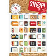 Simple Stories Smarty Pants Double-Sided Card Pack Sn@p!