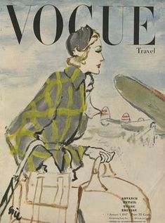 Publication Name | January 1 1947 Vogue Magazine Covers, Fashion Magazine Cover, Magazine Art, Foto Fashion, Fashion History, Travel Fashion, 40s Fashion, Vintage Fashion, Vogue Uk