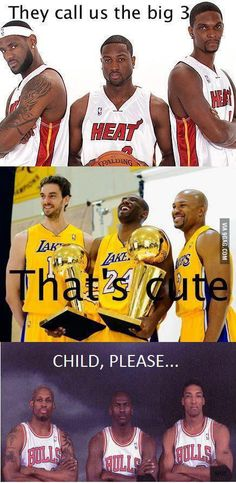 Which is the bigger 3 Funny Nba Memes, Funny Basketball Memes, Basketball Quotes, Basketball Pictures, Basketball Legends, Love And Basketball, Sports Pictures, Jordan Basketball, Girls Basketball