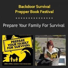 Prepper Book Festival 11: Prepare Your Family For Survival  Giveaway - #survival #prepper