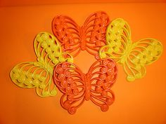HOMCO BURWOOD PLASTIC Butterfly WALL ART