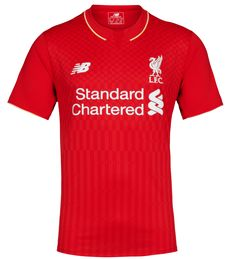 New Balance Liverpool 2016 Home Jersey Liverpool 2016, Liverpool Fc Shirt, Liverpool Soccer, Liverpool Home, Team Shirts, Sports Shirts, Kids Shirts, Cool Shirts, Soccer Kits
