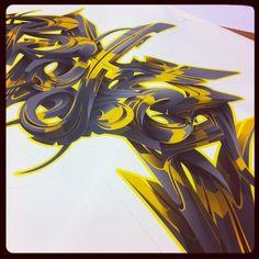 Project digital graffiti piece.