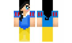 minecraft skin Snow-White Find it with our new Android Minecraft Skins App: https://play.google.com/store/apps/details?id=the.gecko.girlskins