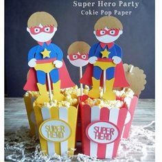 Cokie Pop Paper Boutique: Super Hero Party