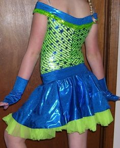 Dansco Girls Dance Costume Cowgirl Costume Size Large   eBay
