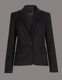 Marks /& spencer bleu marine en laine gris pull réservoir tunique chemise blanche combiné 18 22 plus