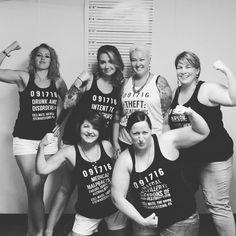 Criminal bridesmaidbridesmaid shirts bridesmaid tanks funny