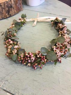 waxflower flower girls crown