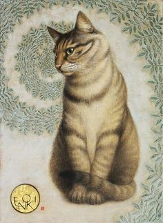 Toshiyuki Enoki Japanese) at The Great Cat Pretty Cats, Beautiful Cats, Asian Cat, Gatos Cats, Cat Drawing, Belle Photo, Crazy Cats, Cat Art, Cats And Kittens